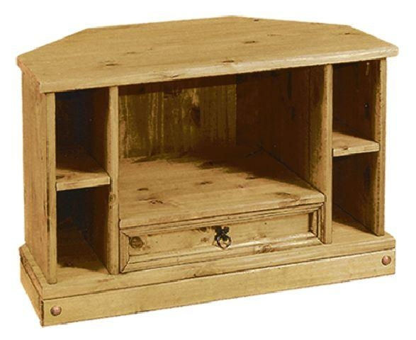 Tv Units (Wood) : Tbs Discount Furniture, A Large Selection Of Pertaining To Latest Corona Tv Corner Unit (View 3 of 20)