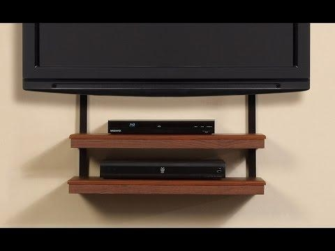 Tv Wall Mount With Shelves – Floating Tv Wall Mount Shelf With Regarding Most Recently Released Shelves For Tvs On The Wall (Image 16 of 20)