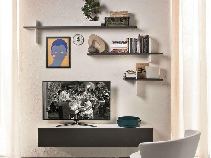 Tv Wall Shelf Wood In Different Styles – Http://www (View 4 of 20)
