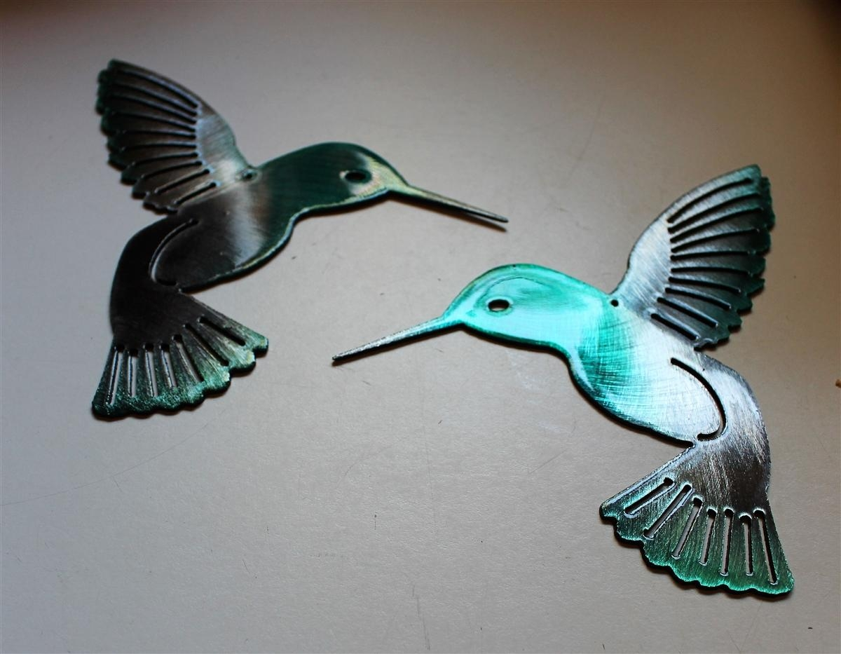 Twitter Throughout Hummingbird Metal Wall Art (Image 16 of 20)