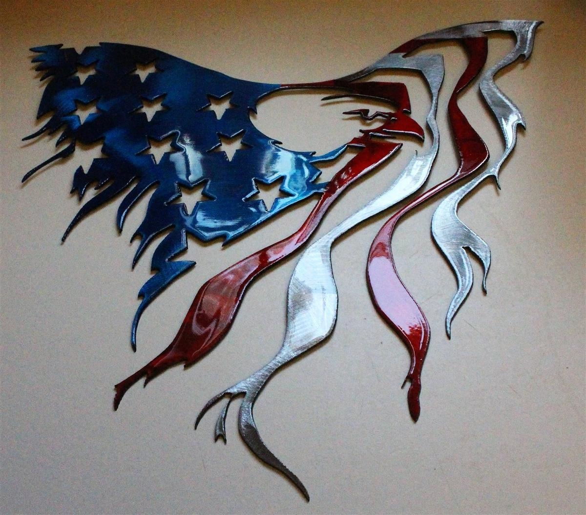 Twitter Throughout Red White And Blue Wall Art (View 4 of 20)