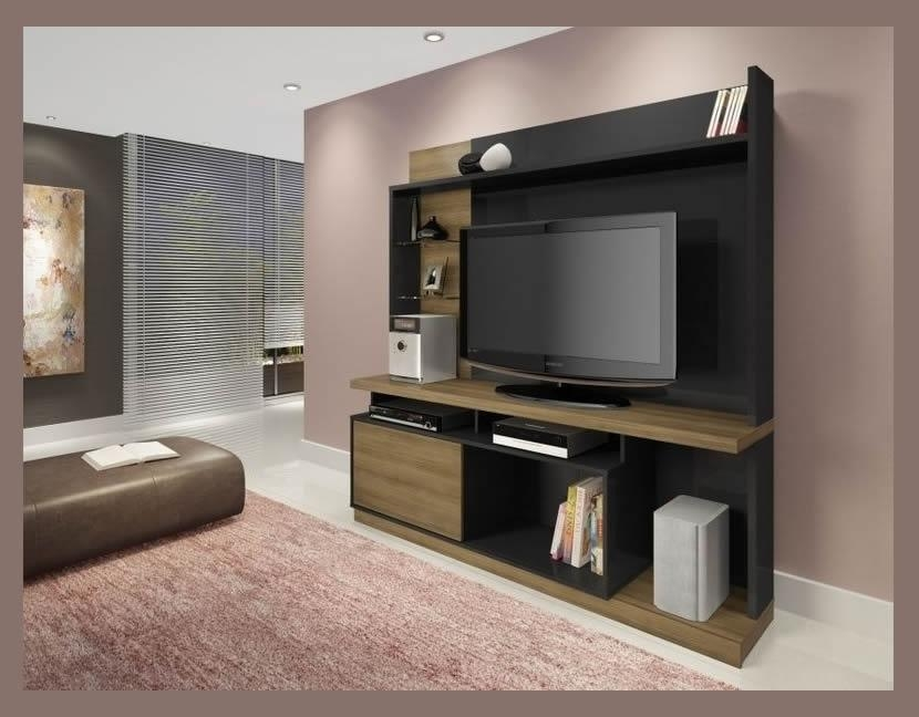 Types Of Tv Unit Stand – Furniture Depot Regarding Most Up To Date Tv Stand Wall Units (Image 12 of 20)