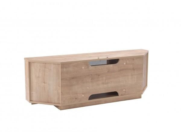 Uckf New Milan Oak Cream Av Tv Stand | Free Delivery for Newest Cream Corner Tv Stands