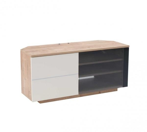Uckf New Tokyo Oak Cream Tv Stand | Free Delivery within Most Current Cream Corner Tv Stands
