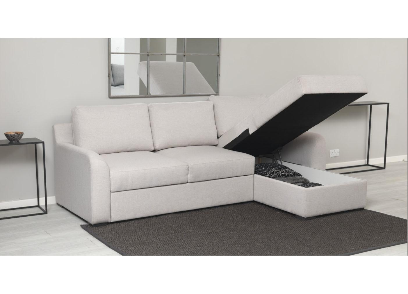 Uk Corner Sofa Bed | Nrtradiant intended for Storage Sofa Beds