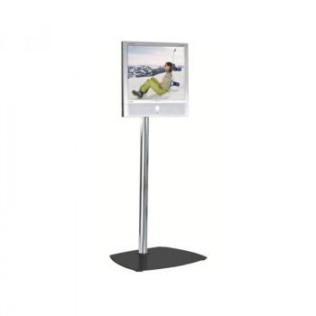 Unicol Tvv1 Tevella Upright Tv Stand Intended For Best And Newest Upright Tv Stands (View 2 of 20)