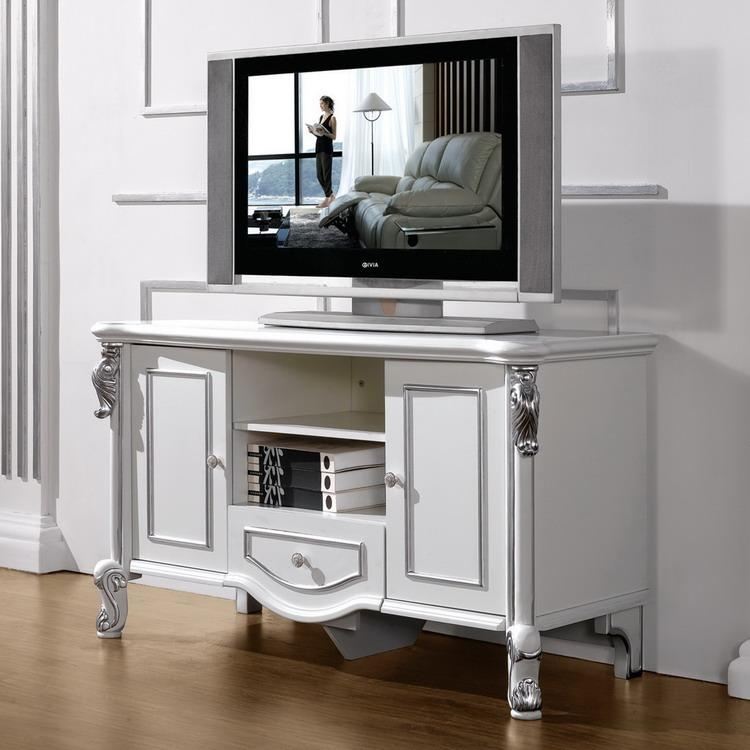 Unique Bedroom Tv Stands For Contemporary Style | Wigandia Bedroom Intended For Most Up To Date Silver Tv Stands (View 18 of 20)