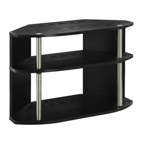 Unique Corner Tv Stands | Bellacor for Most Current Unique Corner Tv Stands
