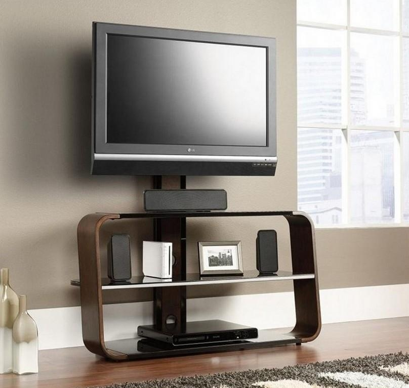 Unique Flat Screen Tv Stands | Nytexas Inside Latest Wall Mounted Tv Stands For Flat Screens (View 3 of 20)