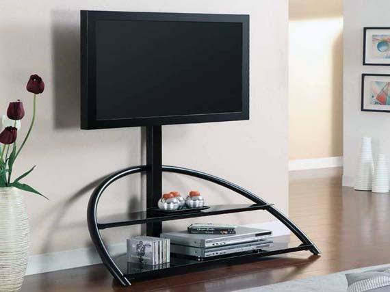 Unique Tv Stand For Flat Screens - Ayanahouse with regard to Latest Unique Tv Stands