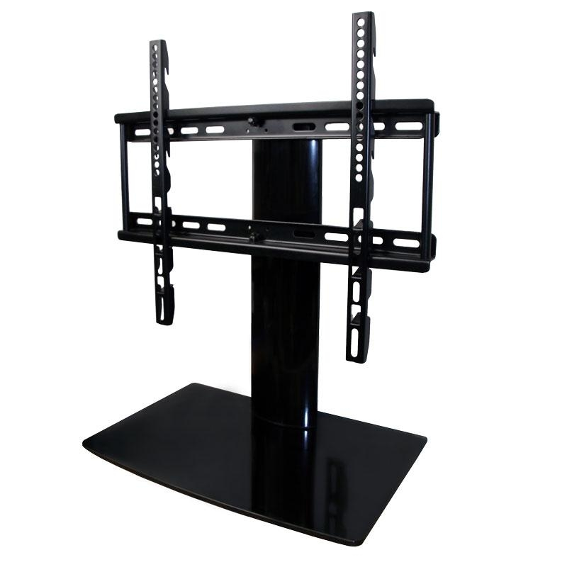 Universal I Tabletop Tv Stand | Swivel I Height Adjustment for 2017 Swivel Black Glass Tv Stands