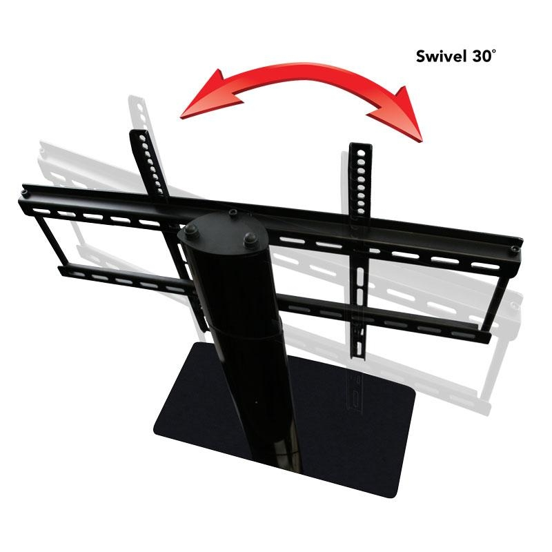 Universal Tv Stand Kit With Bluetooth Soundbar And Soundbar Mount In Most Popular Tv Stands Swivel Mount (Image 18 of 20)