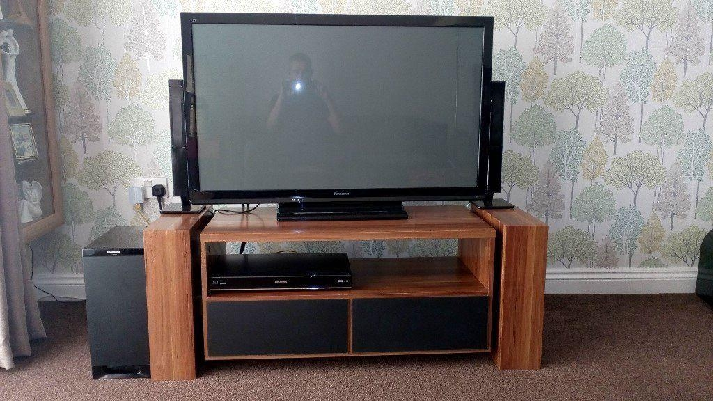 Unusual Tv Unit With 'floating' Centre Unit Price Reduced | In With Most Recently Released Unusual Tv Units (Image 19 of 20)