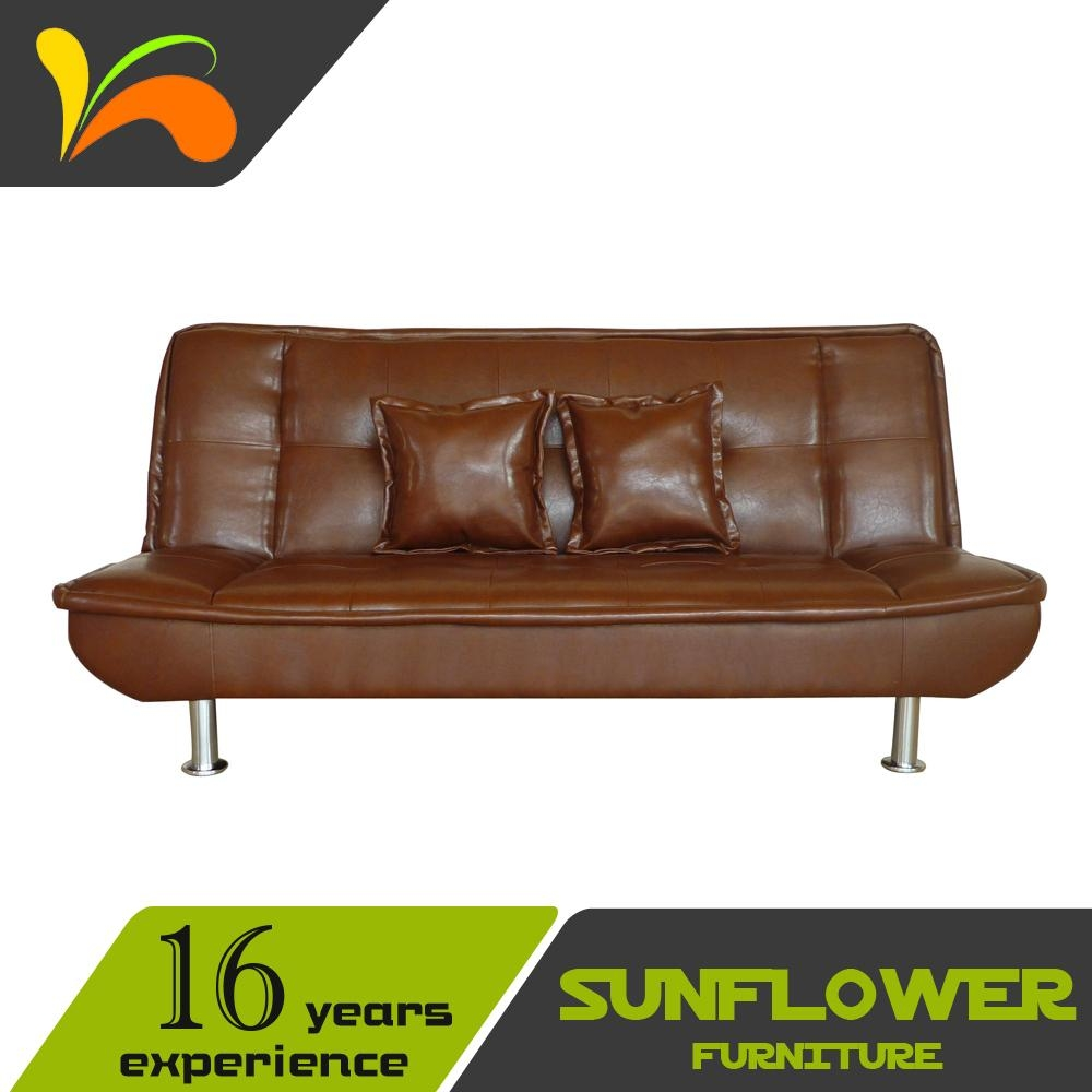 Used Leather Sofa, Used Leather Sofa Suppliers And Manufacturers Regarding Vintage Leather Sofa Beds (Image 14 of 20)