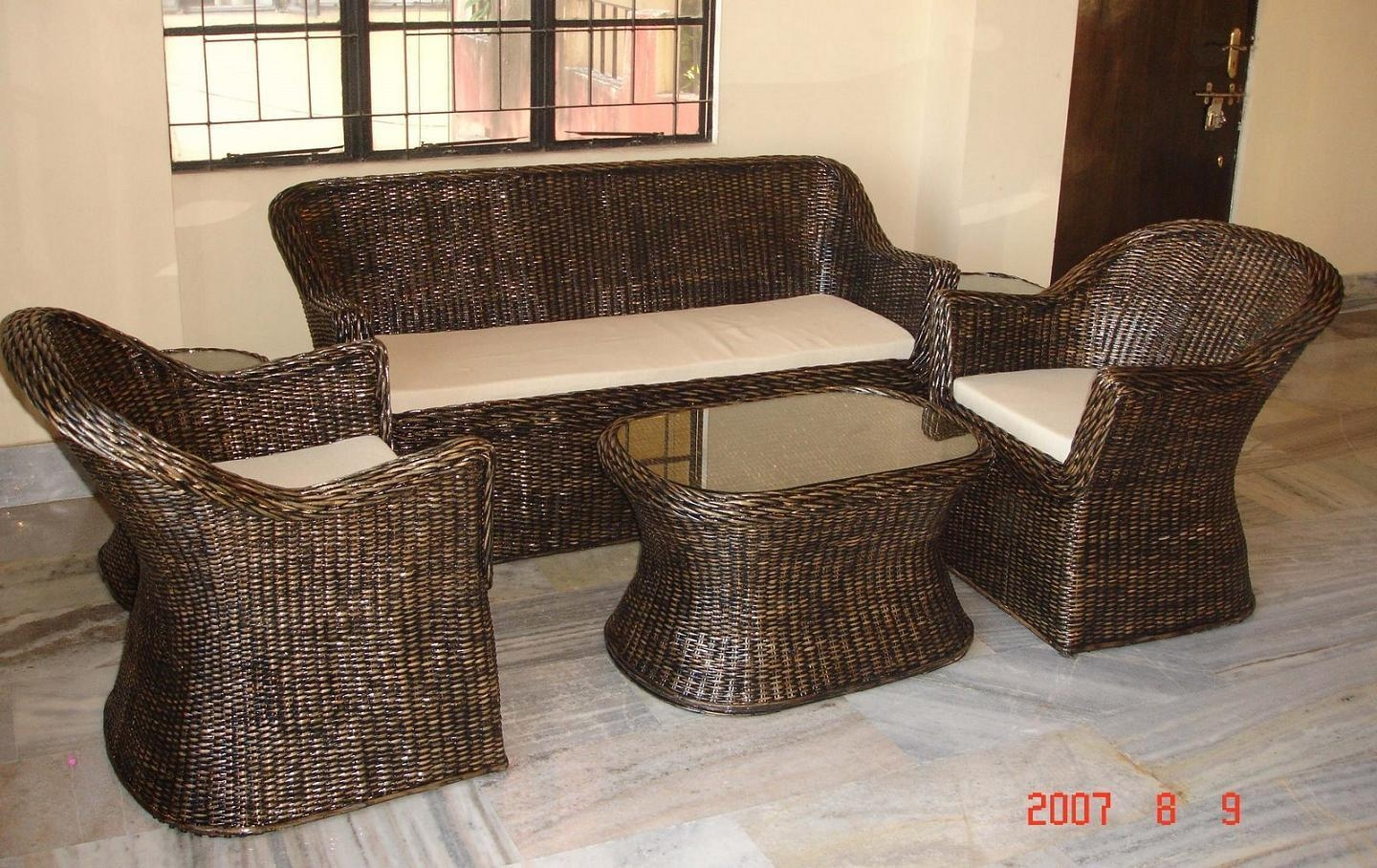 Using Bamboo In Home Decoration In Bambo Sofas (Image 20 of 22)