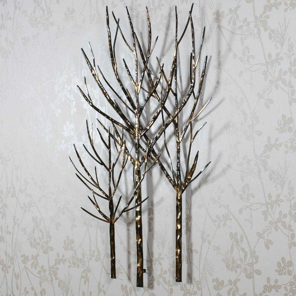 Using Wall Art Like Metal Wall Art For Your Better Wall Look throughout Iron Tree Wall Art