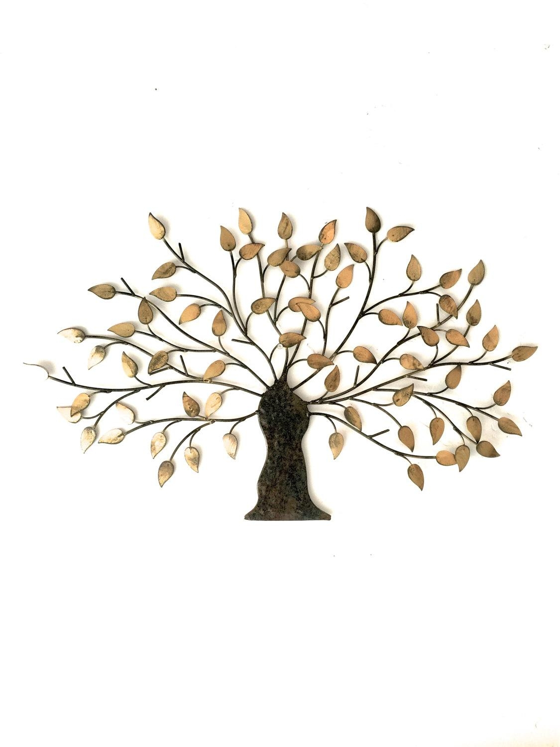 Uttermost Iron Trees Metal Photo Pic Metal Tree Wall Decor - Home with regard to Iron Tree Wall Art