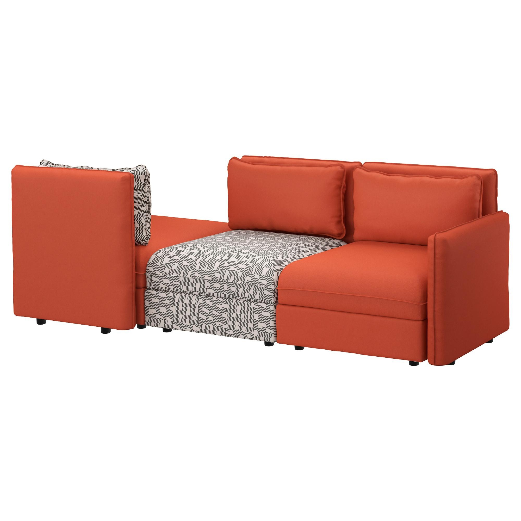 Vallentuna Sofa Review: Something Fishy This Way Comes Throughout Orange Ikea Sofas (View 13 of 20)