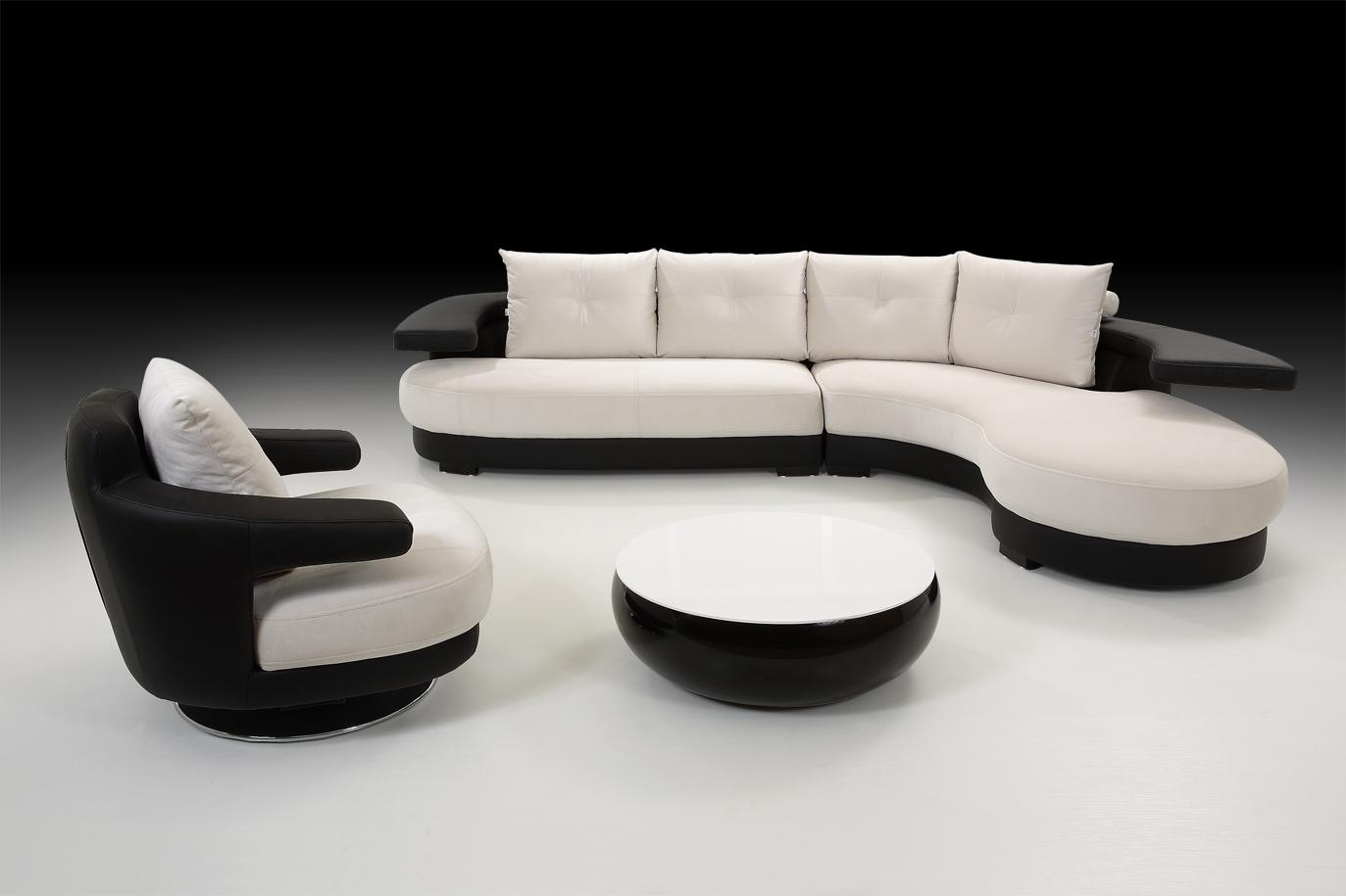 Various Kinds Of Black And White Sofa To Consider Getting : S3Net With White And Black Sofas (Image 21 of 21)