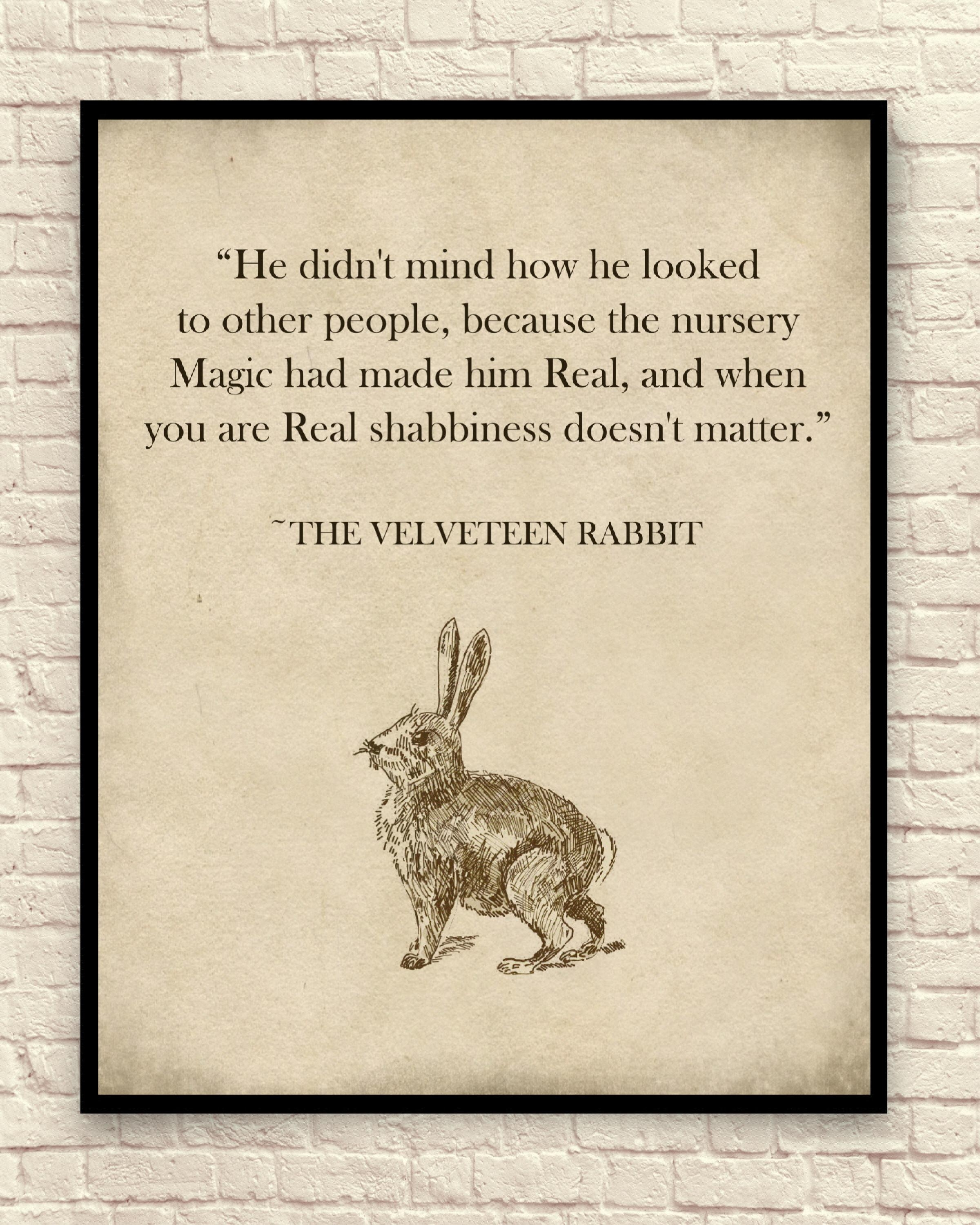 Velveteen Rabbit Wall Art Velveteen Rabbit Art Print Nursery With Regard To Velveteen Rabbit Wall Art (Image 20 of 20)