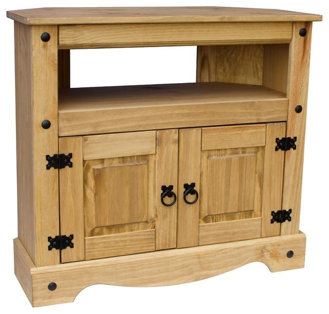 Vida Designs Corona Tv Stand - Country - Tv Stands & Units - for Latest Country Tv Stands