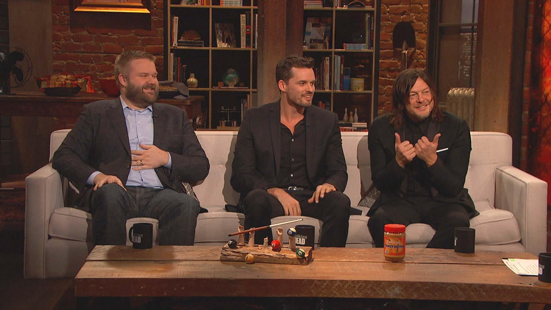 Video Extra – The Walking Dead – Talking Dead: Highlights: Season For Talking Dead Wood Wall Art (Image 16 of 20)