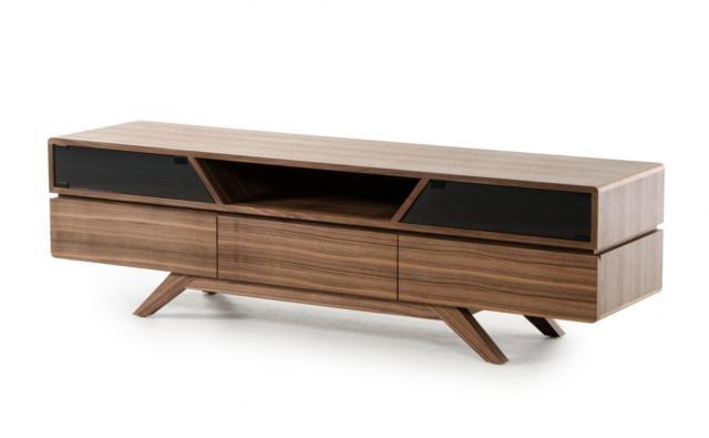 Vig Furniture Nova Domus Soria Modern Walnut Tv Stand | Ebay Pertaining To Current Walnut Tv Stands (View 6 of 20)