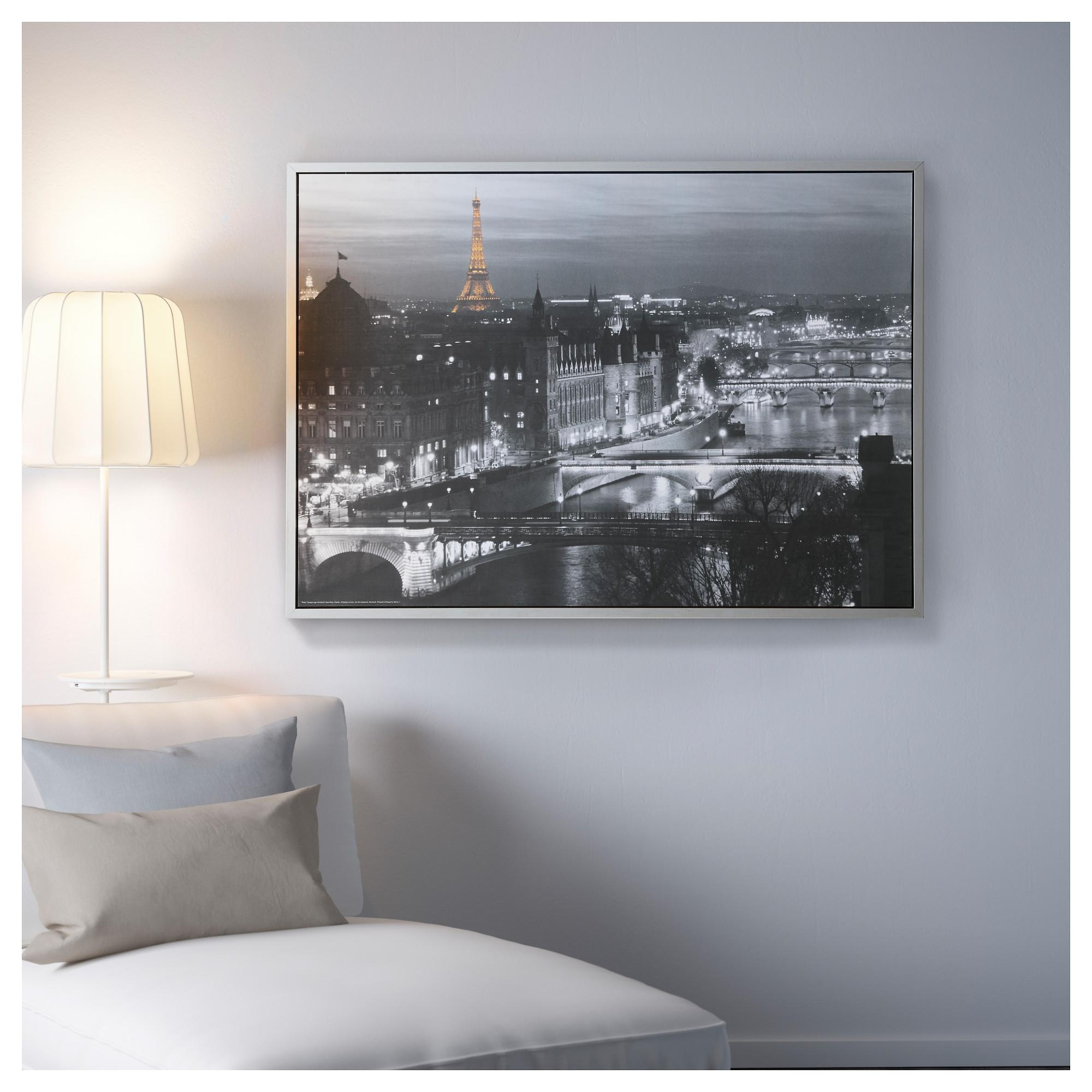 Vilshult Picture Paris 140X100 Cm – Ikea Intended For Ikea Large Wall Art (View 9 of 20)