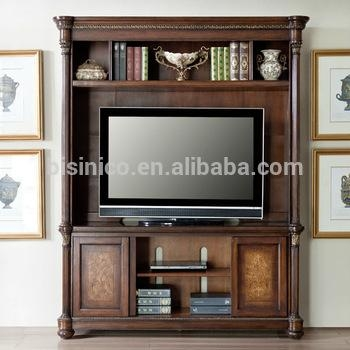 Vintage Design Wooden Tv Cabinet,america Style Replica Living Room inside Newest Classic Tv Cabinets