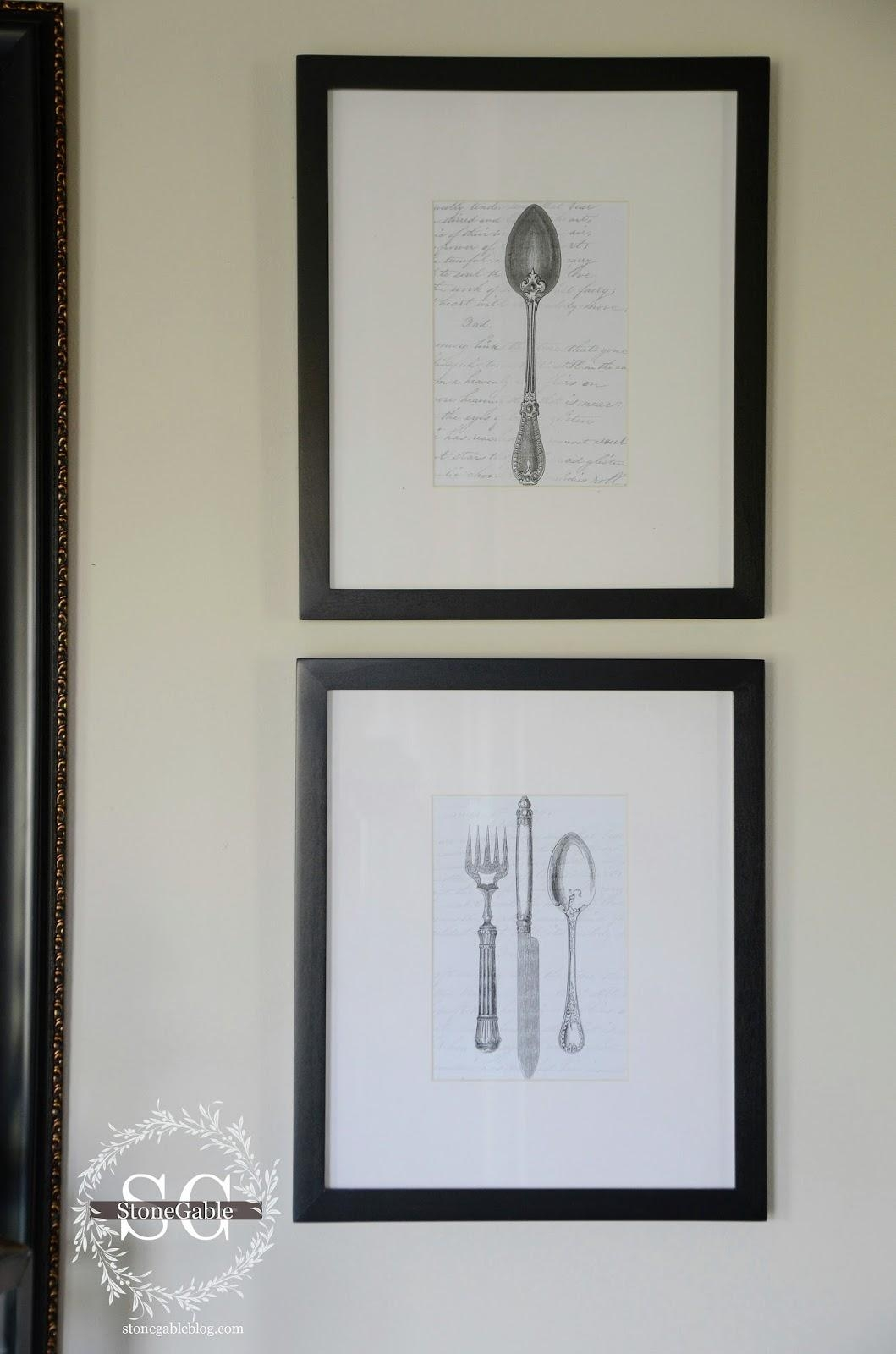 Featured Photo of Silverware Wall Art