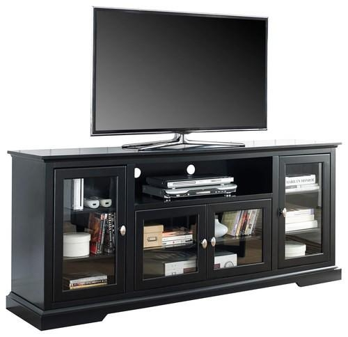 Walker Edison Highboy Tv Stand For Most Flat Panel Tvs Up To 70 Intended For 2017 Highboy Tv Stands (View 11 of 20)