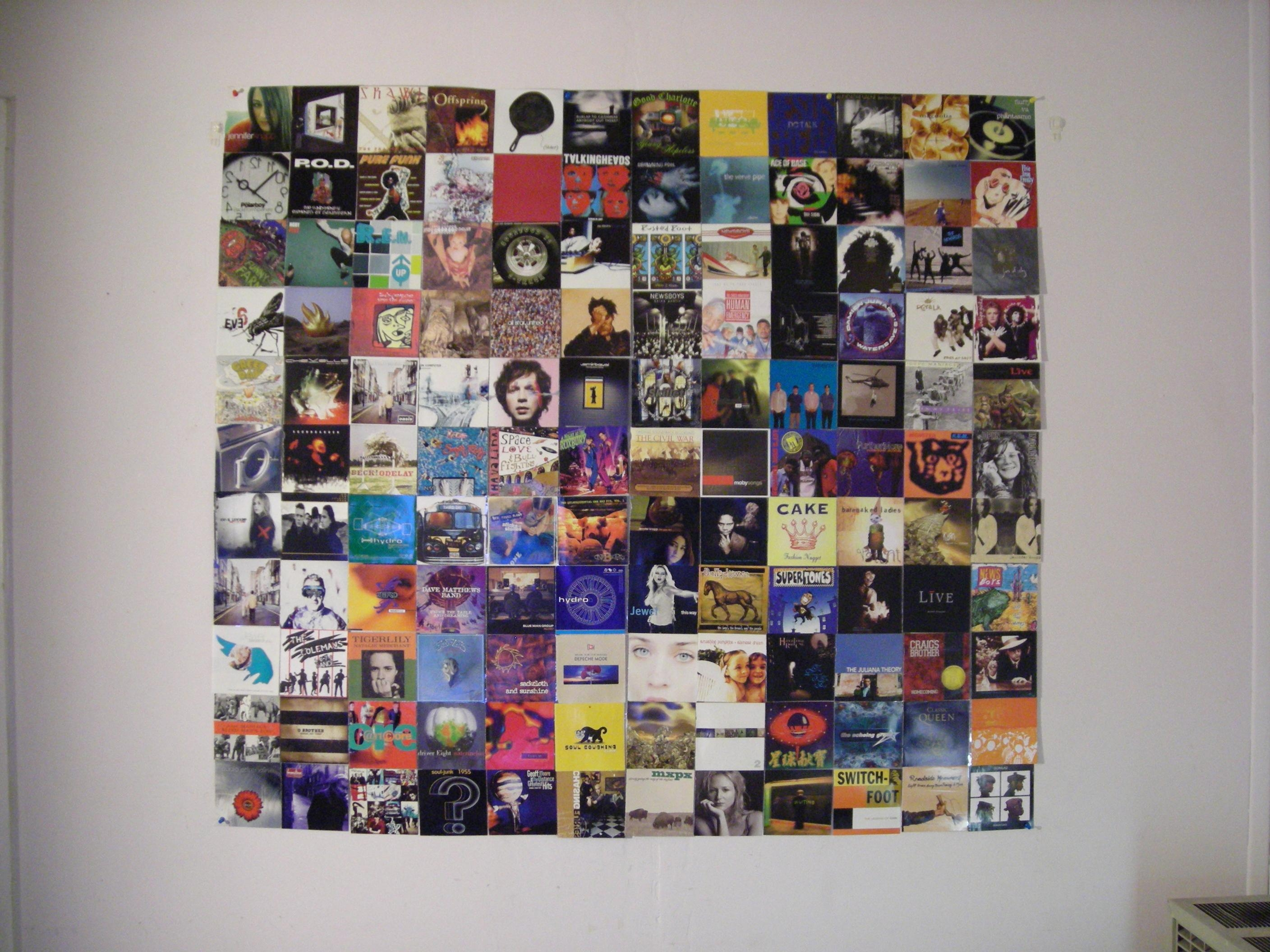 Featured Photo of Album Cover Wall Art