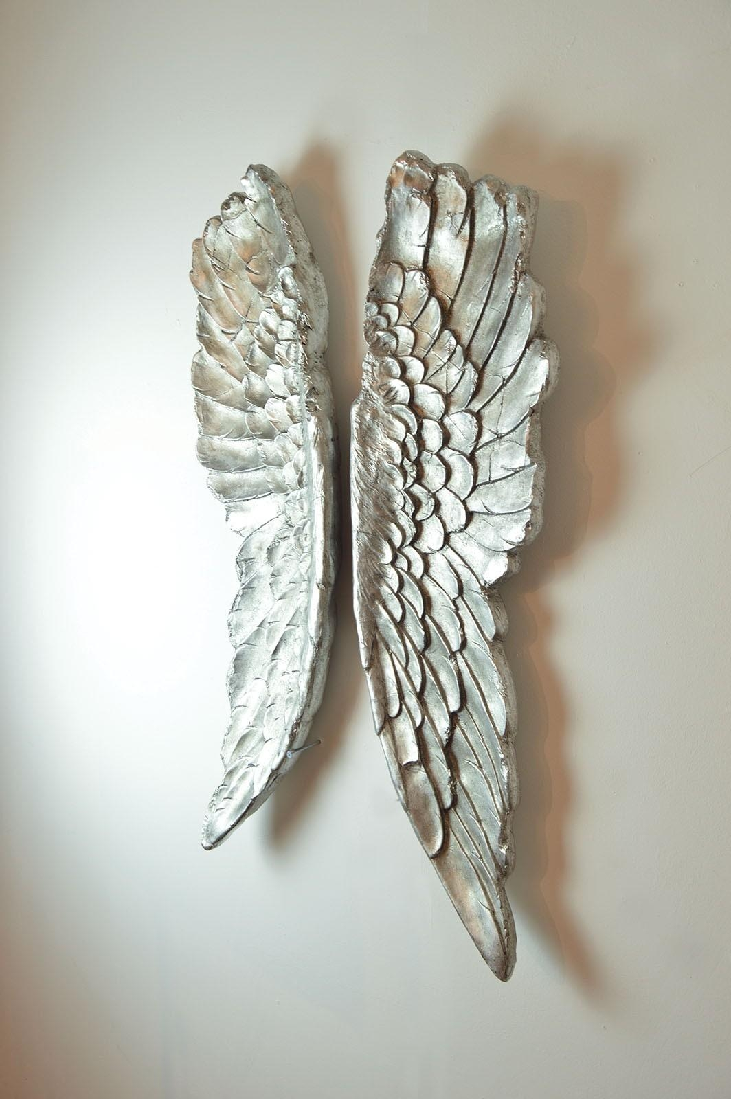 20 choices of angel wing wall art wall art ideas for Angel wings wall decoration uk