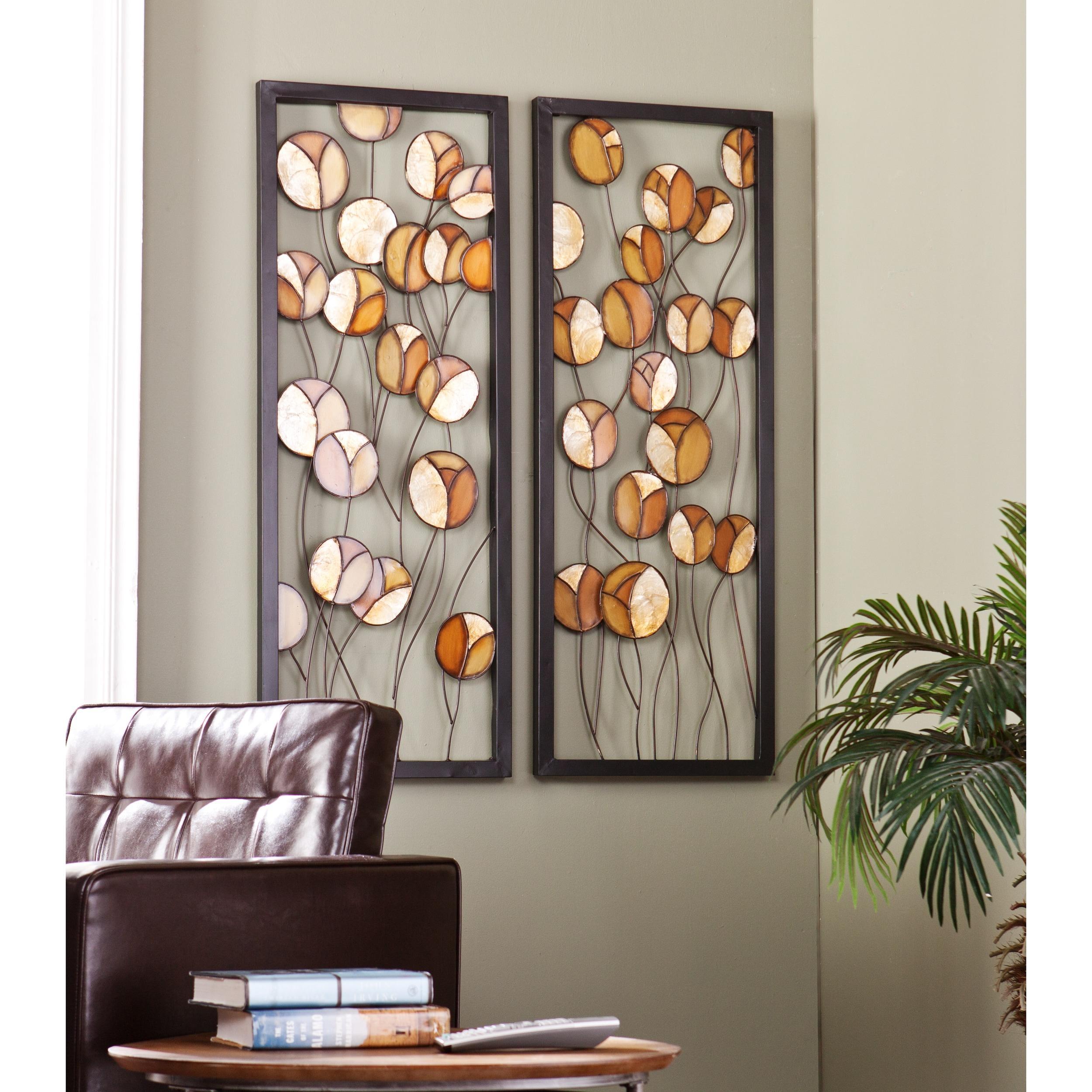 Home Goods Wall Decor: 20 Collection Of Capiz Wall Art