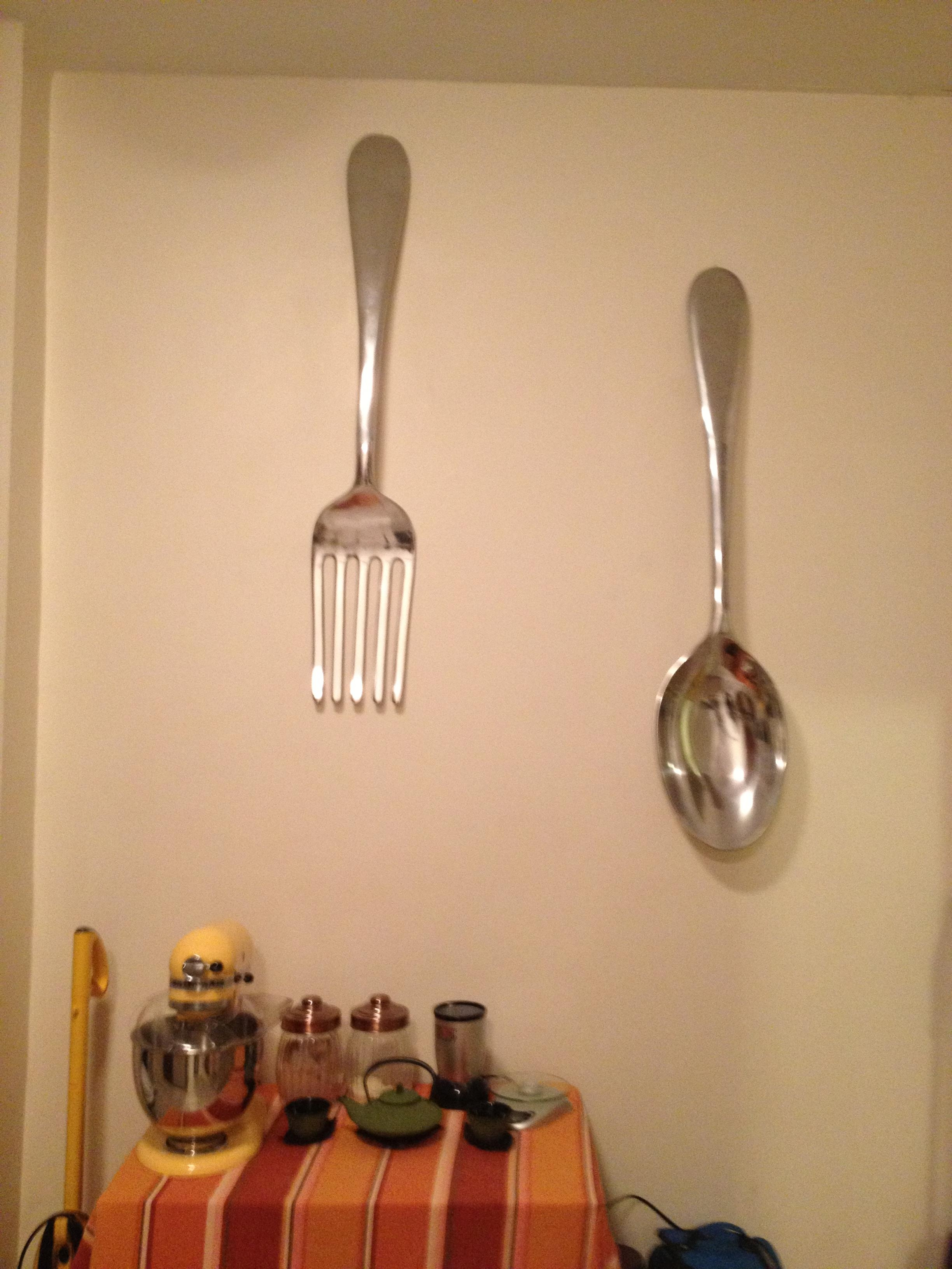 Featured Photo of Large Spoon And Fork Wall Art