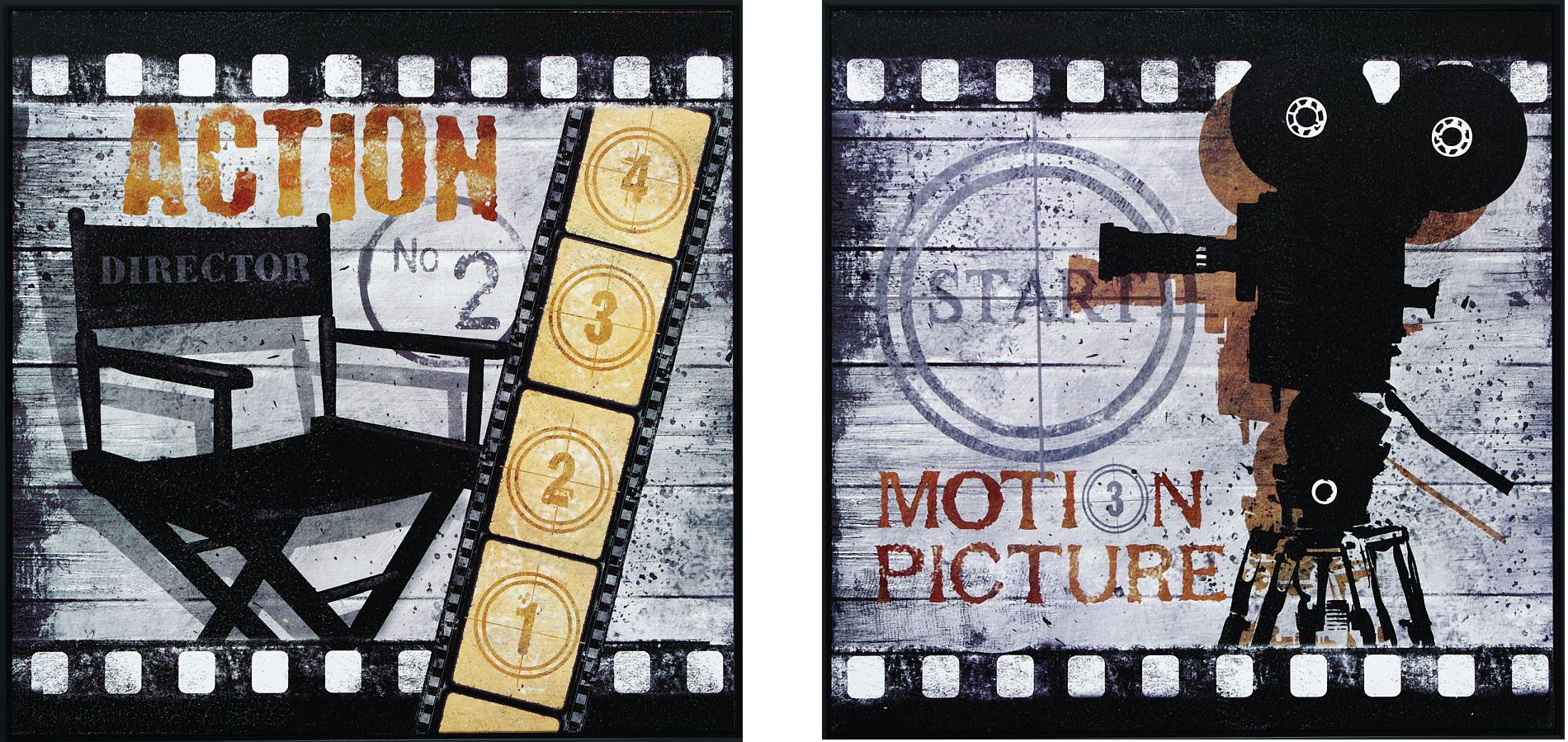 Wall Art Design Ideas: Theater Sign Cinema Wall Art Home Big Regarding Movie Themed Wall Art (Image 15 of 20)