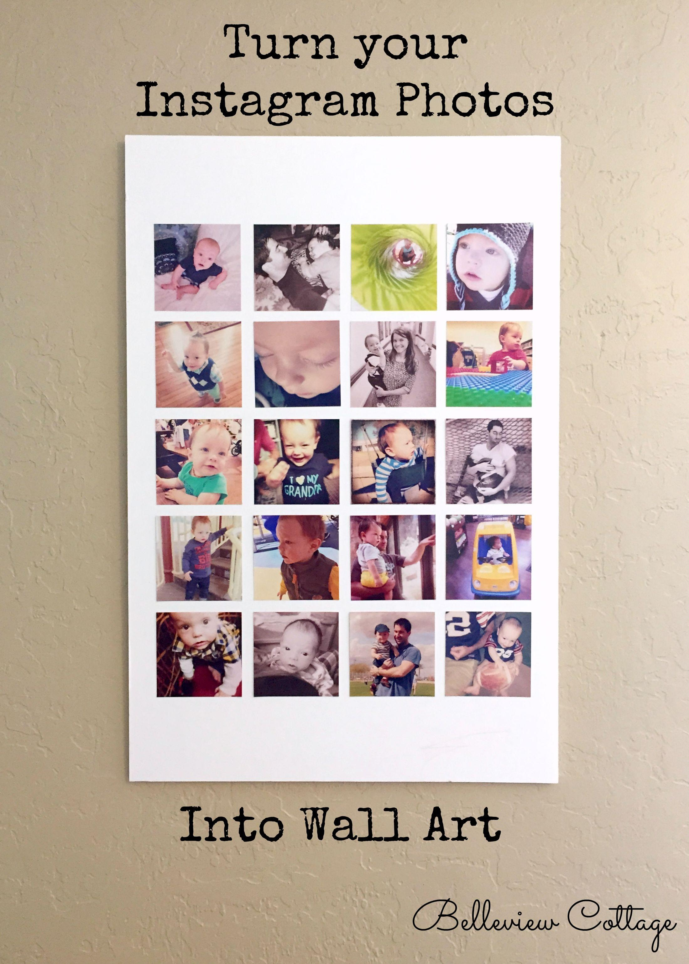 Wall Art Designs: Awesome Turn Your Instagram Photos Into Wall Art For Turn Pictures Into Wall Art (View 2 of 20)