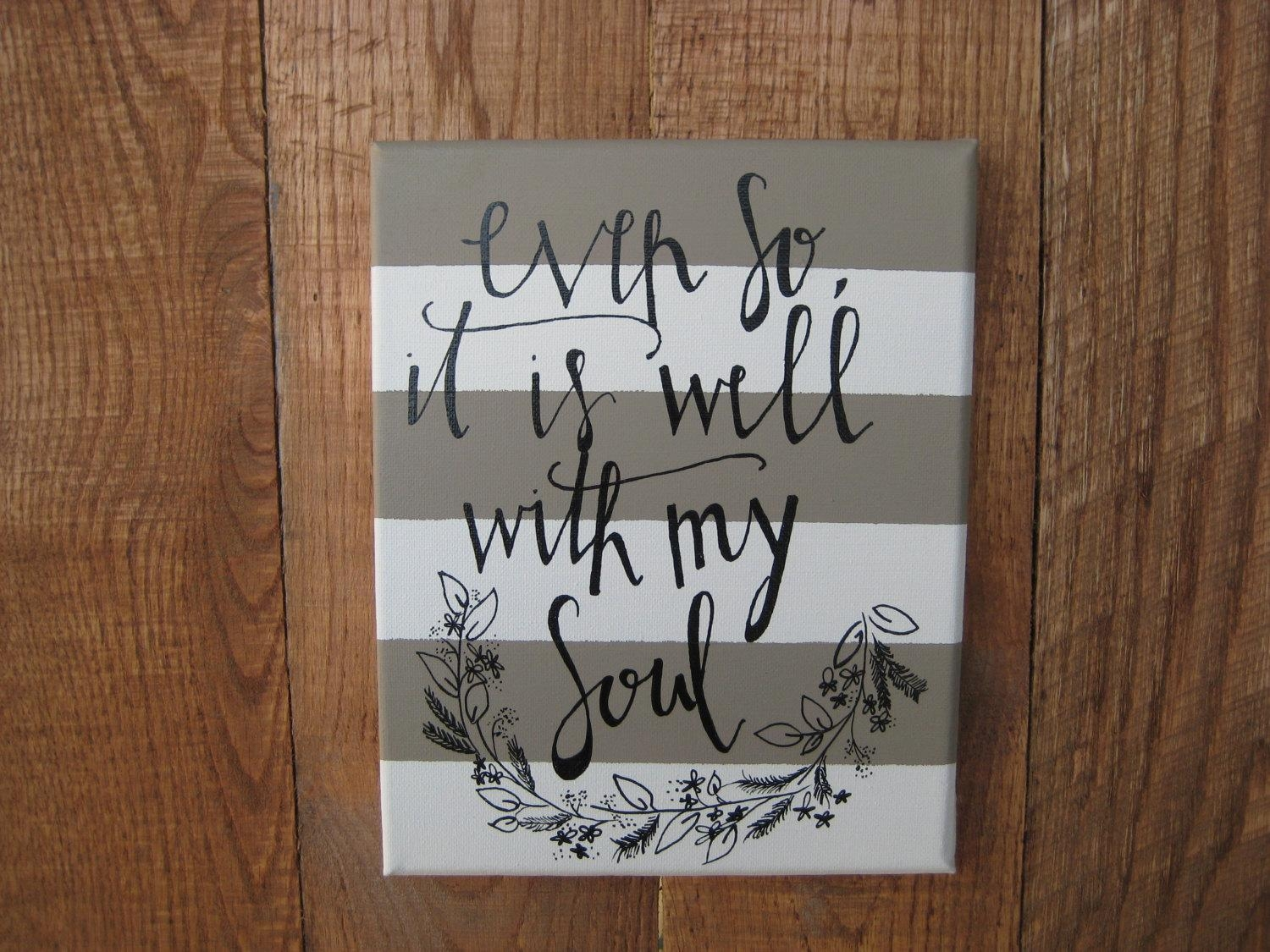 Wall Art Designs: Christian Canvas Wall Art On Your Home And With Regard To Christian Wall Art Canvas (View 2 of 20)