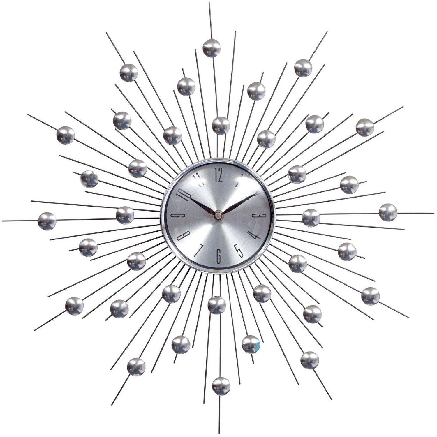 Wall Art Designs: Starburst Wall Art Lexmod Silver Starburst Wall For Silver Starburst Wall Art (Image 13 of 20)