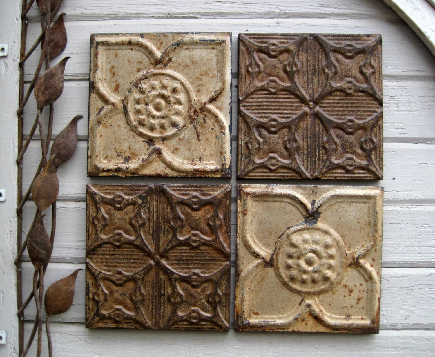Featured Photo of Medallion Tiles Wall Art