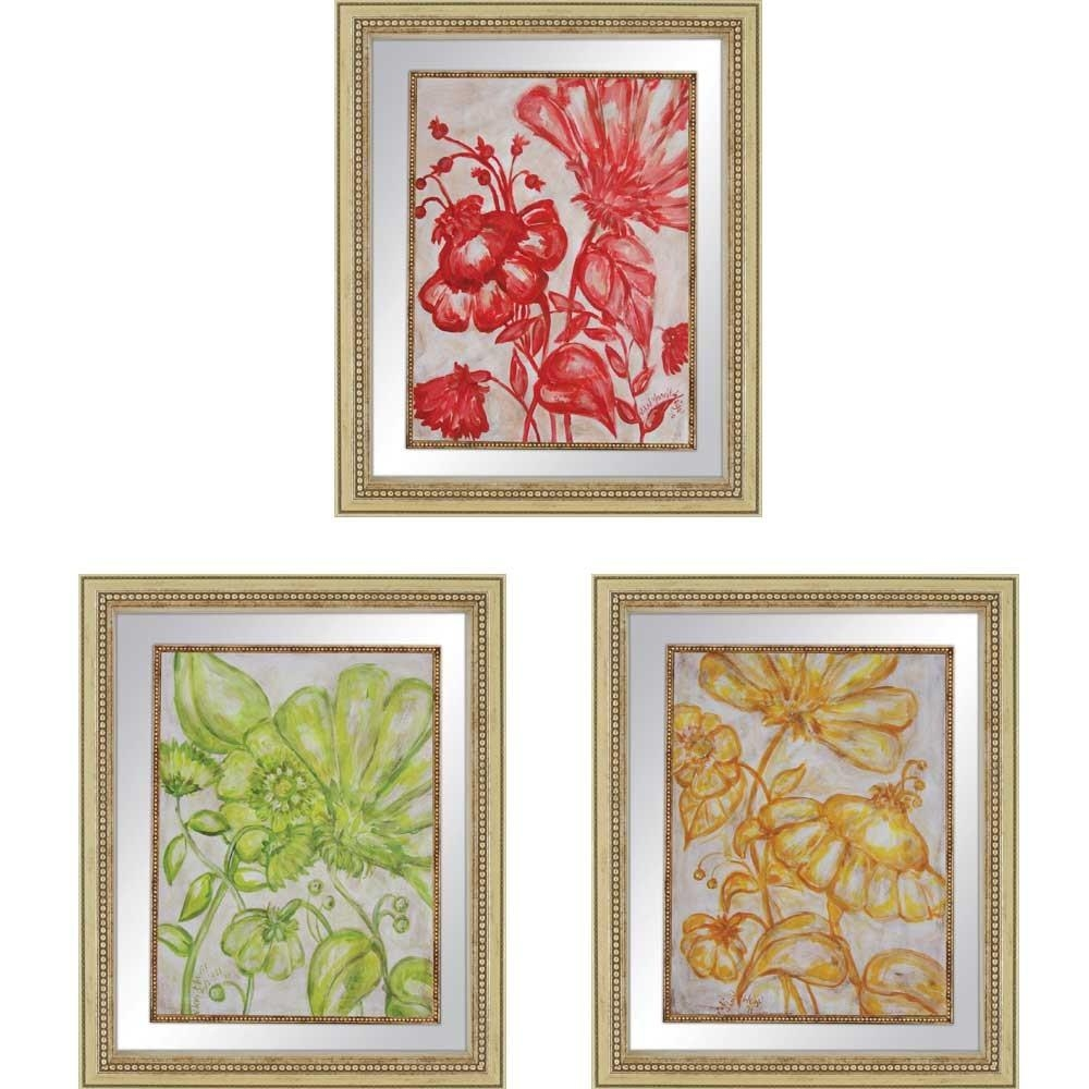 Wall Art Designs: Top Framed Wall Art Set Of 3 Set Of 2 Framed Art Within Wall Art Sets Of  (Image 15 of 20)
