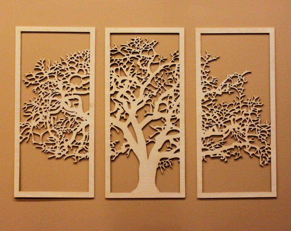 Top tree of life wood carving wall art ideas