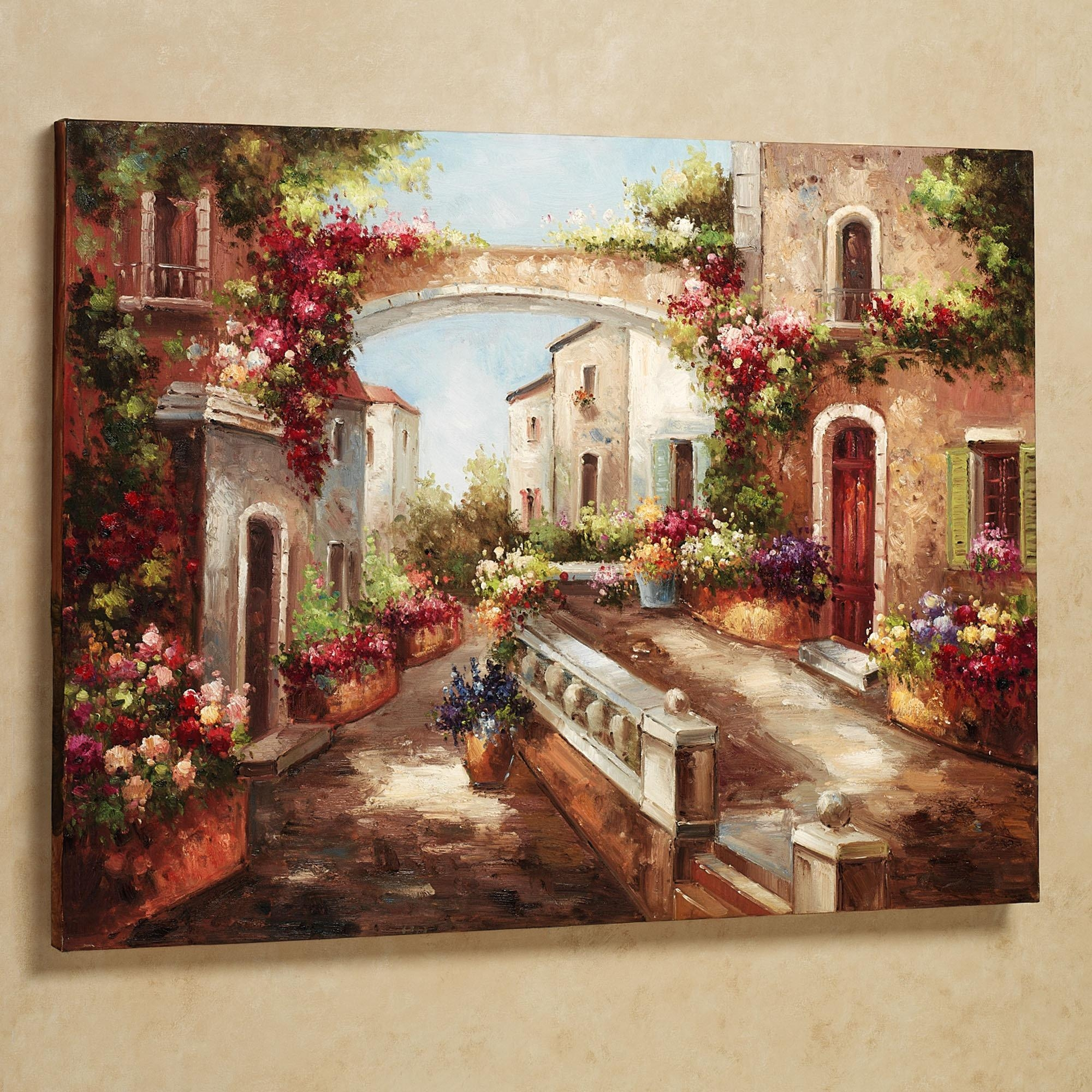 Wall Art Designs: Tuscan Wall Art Old Prints With Stylish New Ones Pertaining To Italian Wall Art Prints (View 4 of 20)