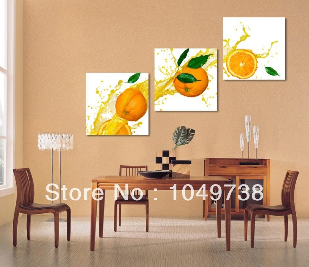 Wall Art For Dining Room Ideas And Implementations With Pictures Pertaining To Canvas Wall Art For Dining Room (View 7 of 20)