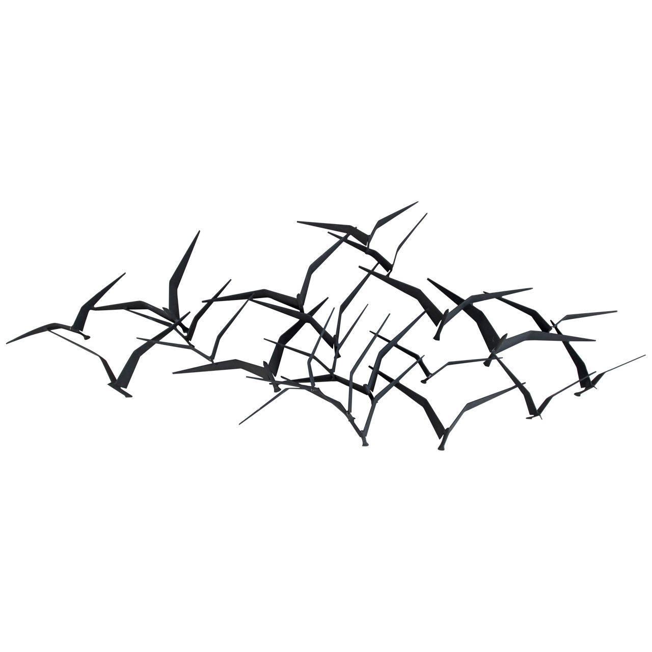 Wall Art Ideas Design : Famous Artisan Metal Wall Art Birds In For Metal Flying Birds Wall Art (View 2 of 20)