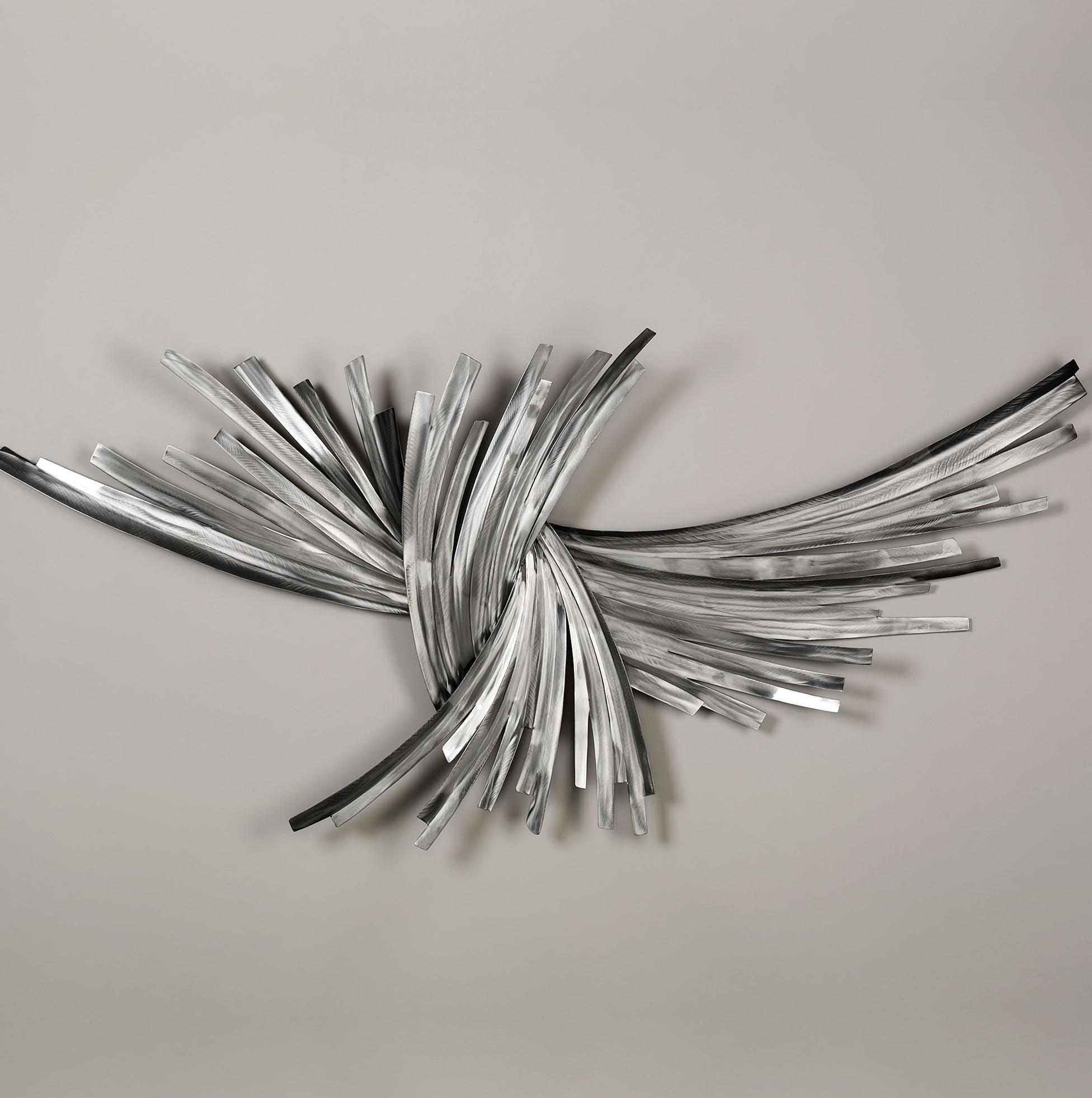 Wall Art Ideas Design : Flowers Decorations Silver Metal Wall Art Within Silver Metal Wall Art Flowers (Image 14 of 20)