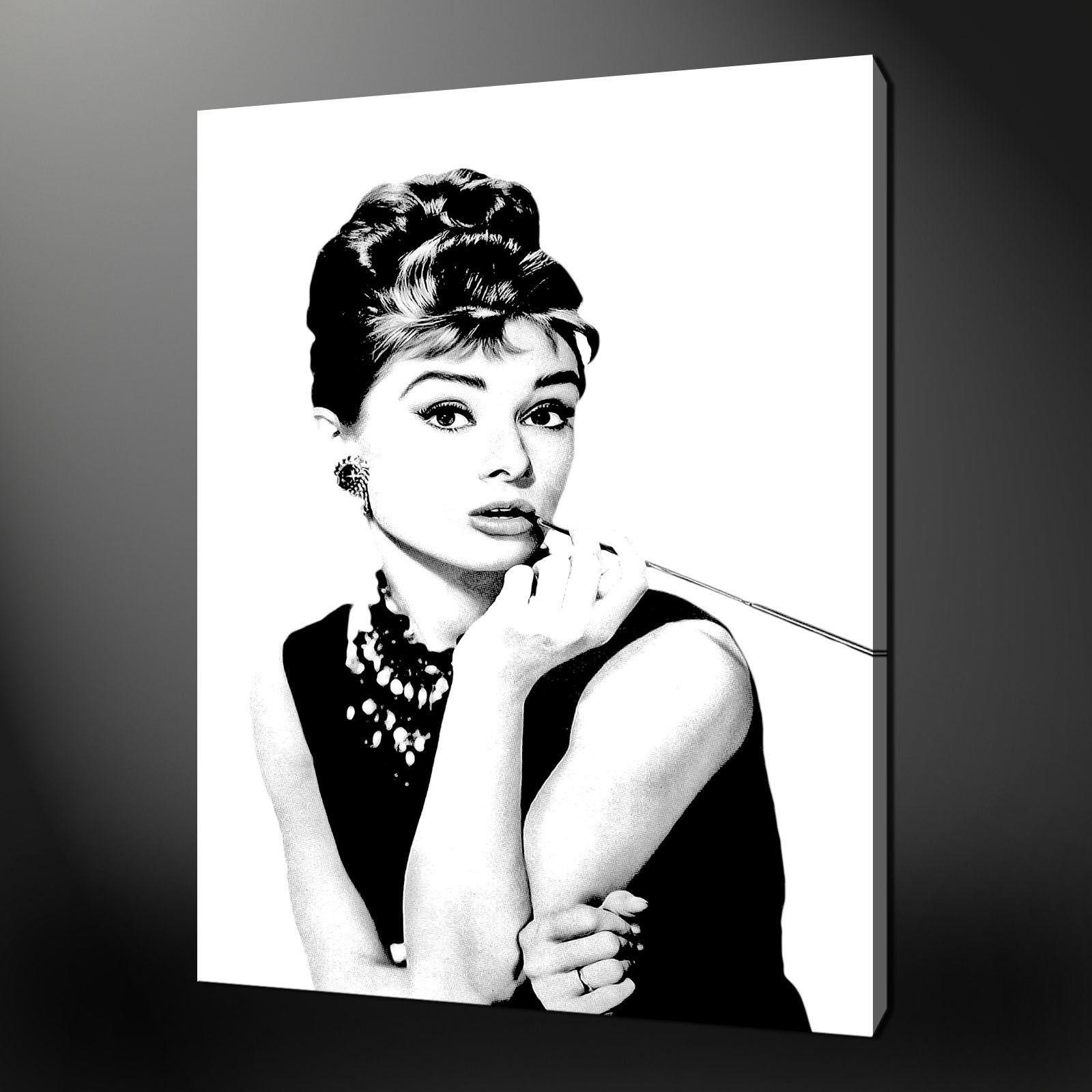 Featured Photo of Glamorous Audrey Hepburn Wall Art