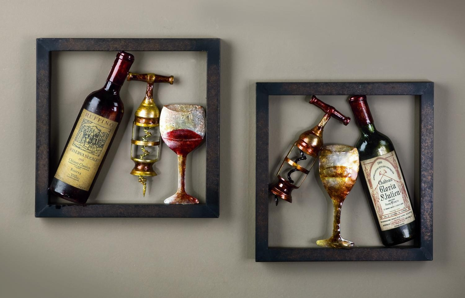 20 ideas of wine themed wall art wall art ideas for Wine shop decoration