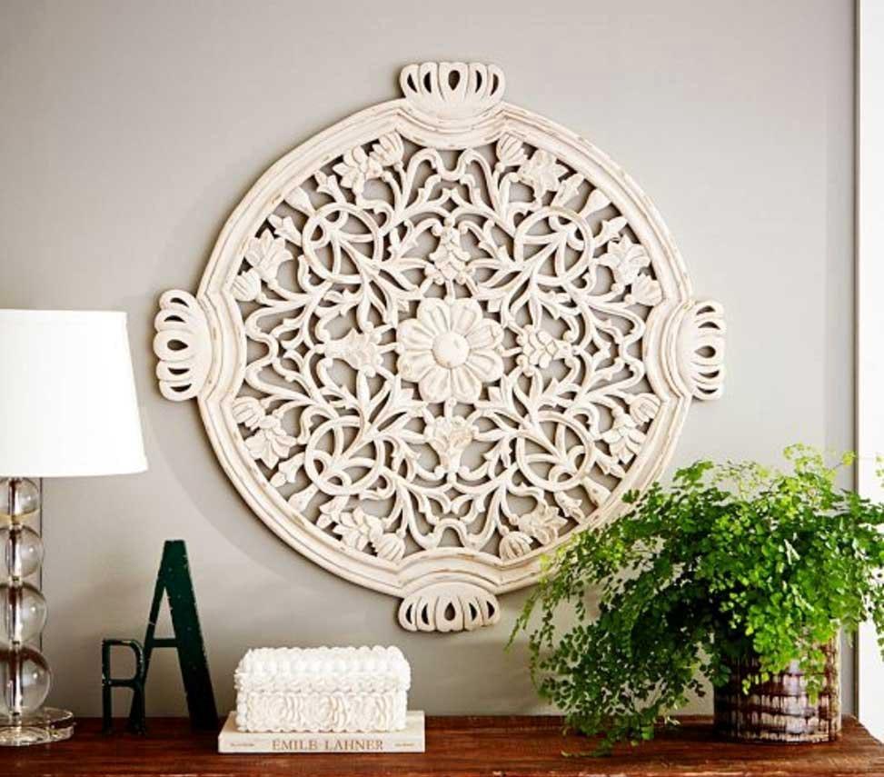 Wall Art Inspiring Wood Medallion Wall Art Rustic Wood Decor For Metal Medallion Wall Art (Image 11 of 20)