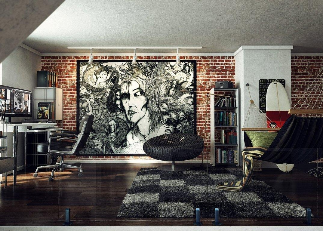 Wall Art: New Released Cool Wall Art For Guys Cool Paintings For Within Wall Art For Guys (View 8 of 20)